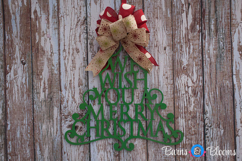 christmas door decor merry christmas tree door hanger
