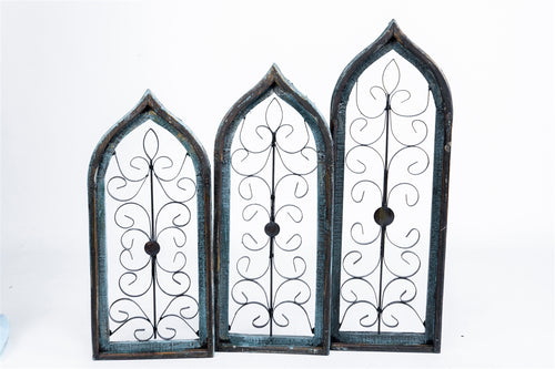 BARTO Turquoise Architectural Window