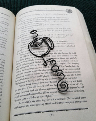Personalized coffee bookmark