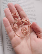 Coffee cup bookmark