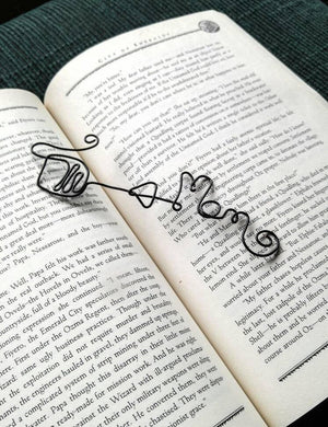 Personalized Wine Bookmark