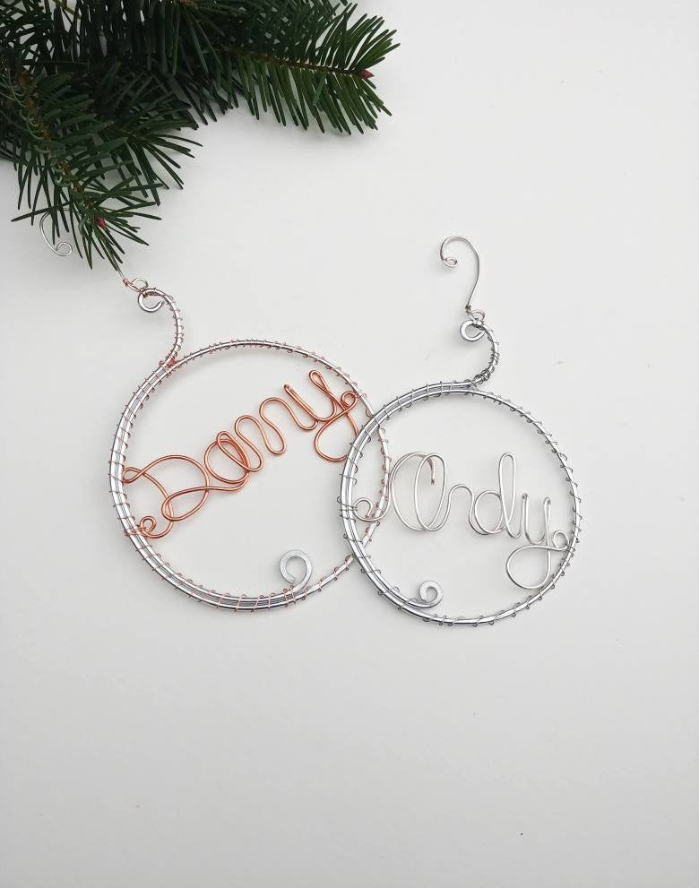 Name Ornament, Custom Ornament
