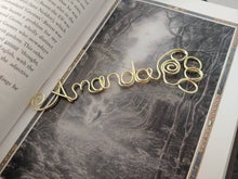 Personalized Paw Print Bookmark