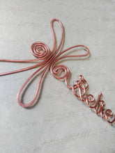 Personalized dragonfly bookmark