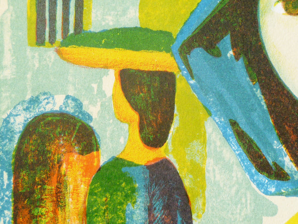 Jose Buigas lithograph close up image 2