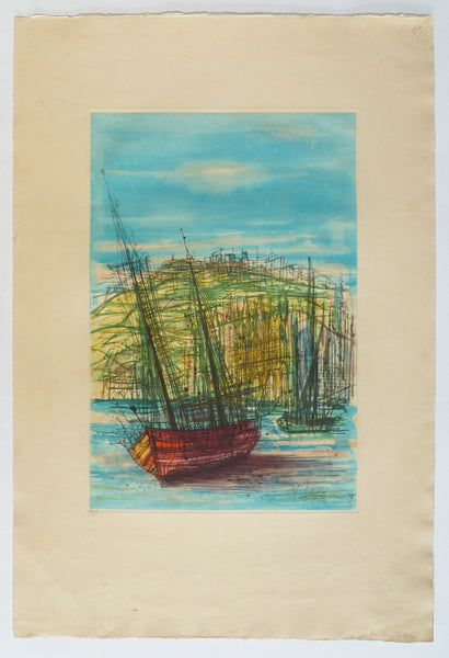 Jean Carzou Colour Etching full image
