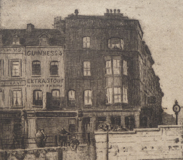 Morgan Dennis Etching Guinness outlet Close up image