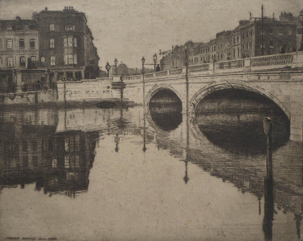 Morgan Dennis Etching Guinness outlet without margins view image