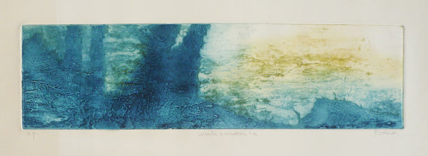 Ruth Rodman Colour Carborundum Etching matted image