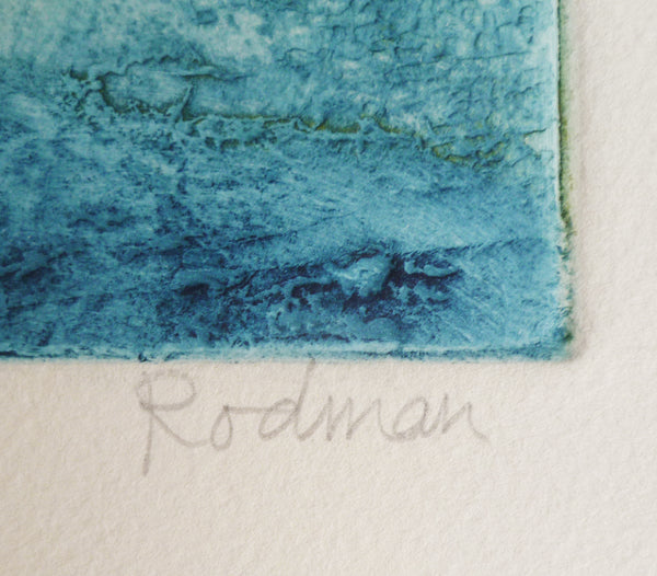 Ruth Rodman Colour Carborundum Etching signature image