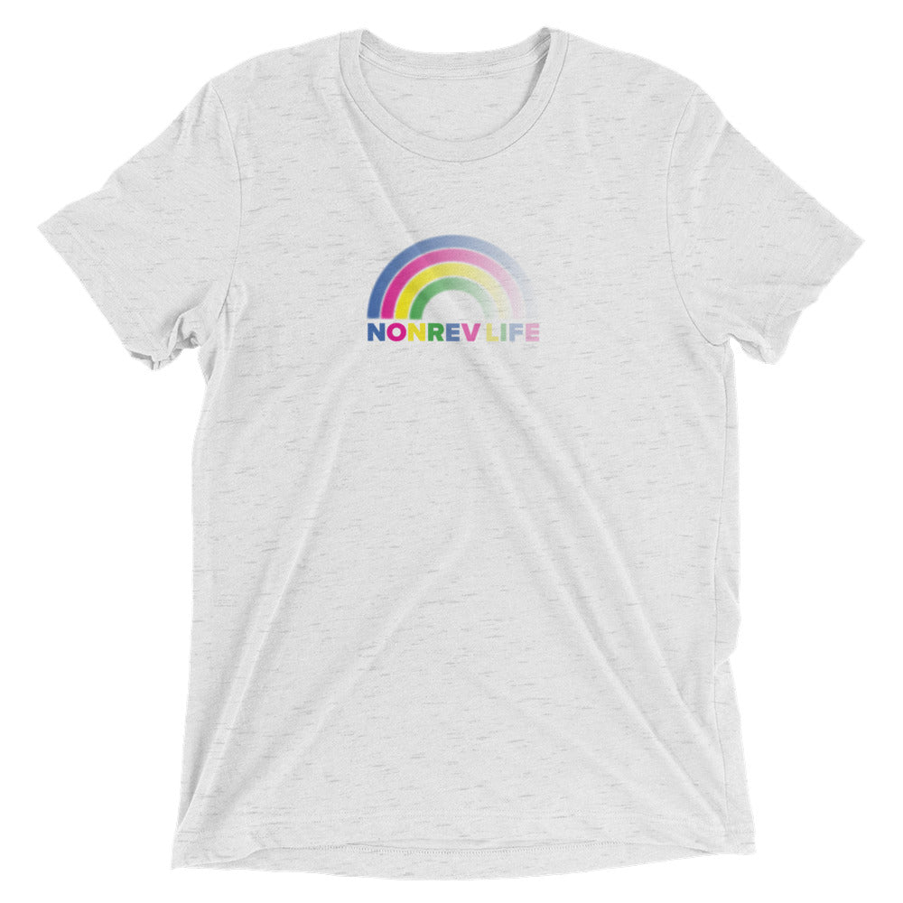 Rainbow Triblend Short Sleeve T-Shirt
