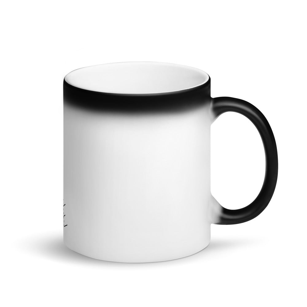 Matte Black Magic Mug - New NonRevLife Line