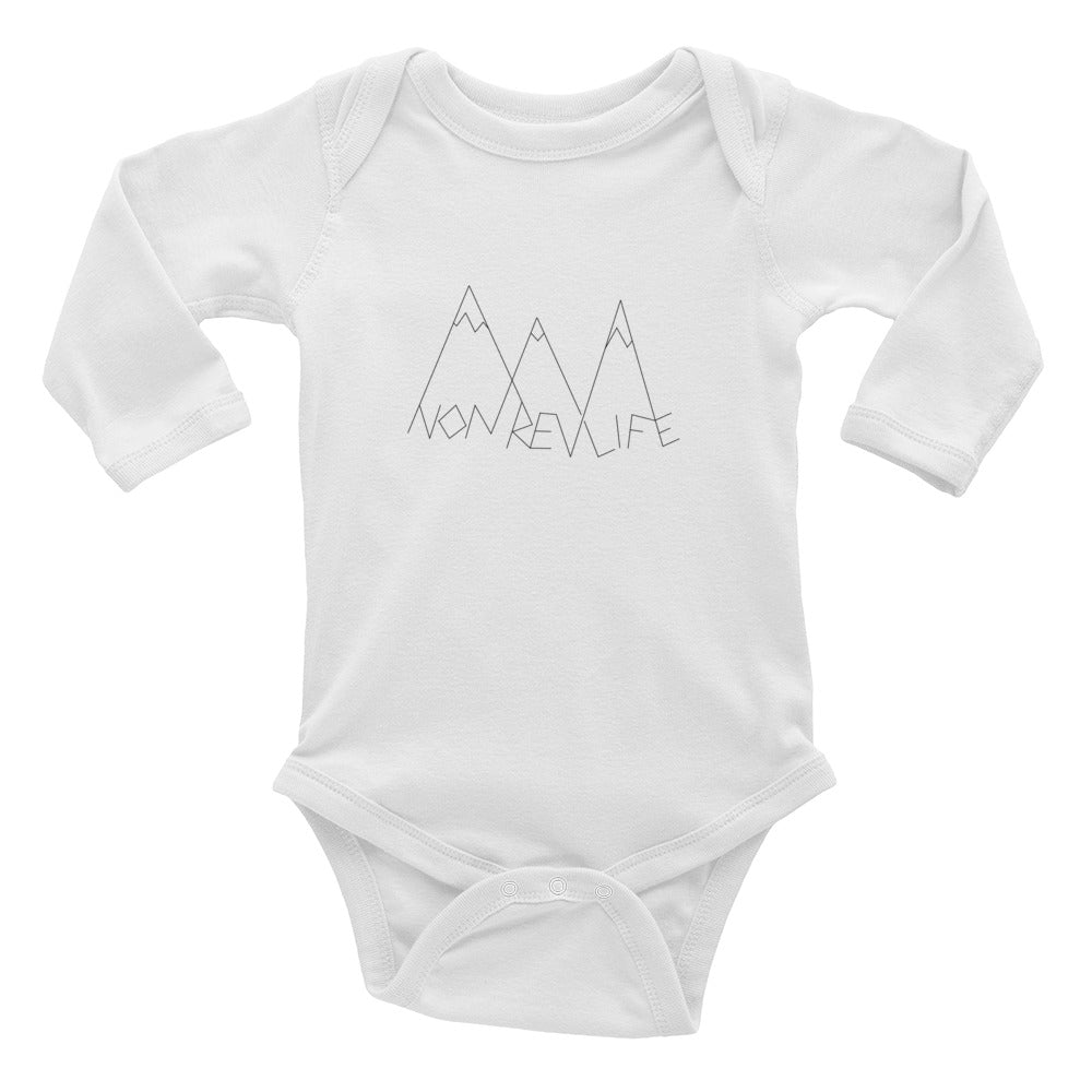 Infant Long Sleeve Bodysuit - New NonRevLife Line