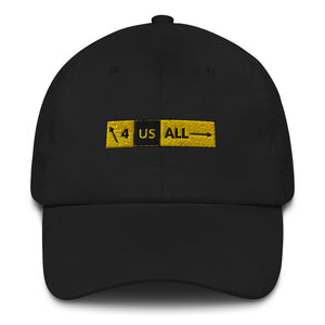 """4 Us All"" hat"