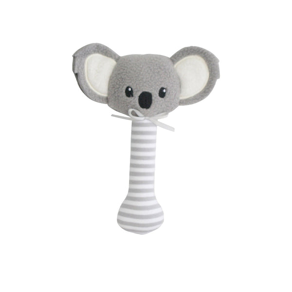 Alimrose Baby Koala Stick Rattle Grey