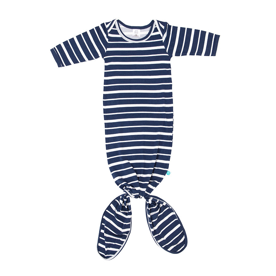 All4Ella Knotted Onesie Stripe