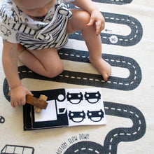 Baby Cloth Book - Vehicles