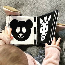 Baby Cloth Book - Zoo