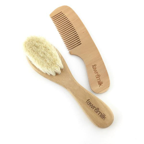 Baby Hair Brush and Comb Set