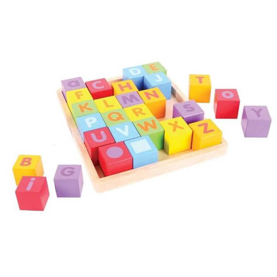 Bigjigs Wooden ABC Blocks