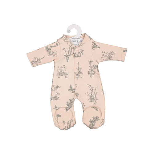 Blush Meadow Sleep Suit For 38cm Doll