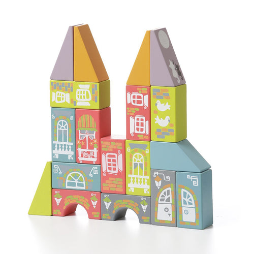 Cubika Fabulous City Wooden Blocks