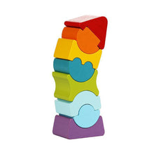 Cubika Wooden Flexible Stacking Tower