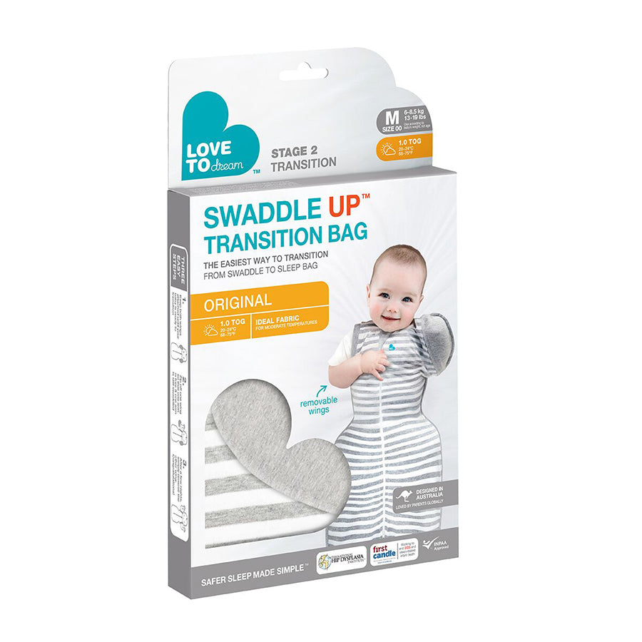 Love To Dream Swaddle Up Transition Bag Original 1.0 Tog