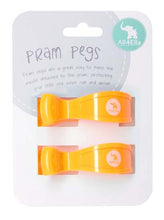 All4Ella Pram Pegs Fluro Orange