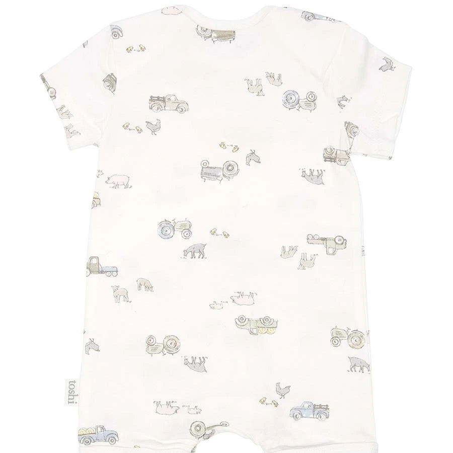 Toshi Onesie Short Sleeve Farmer Joe's