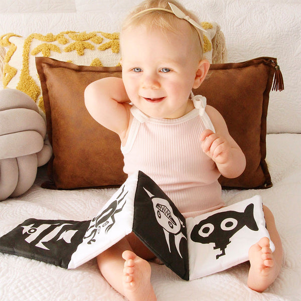 Baby Cloth Fold Out Book - Under the Sea