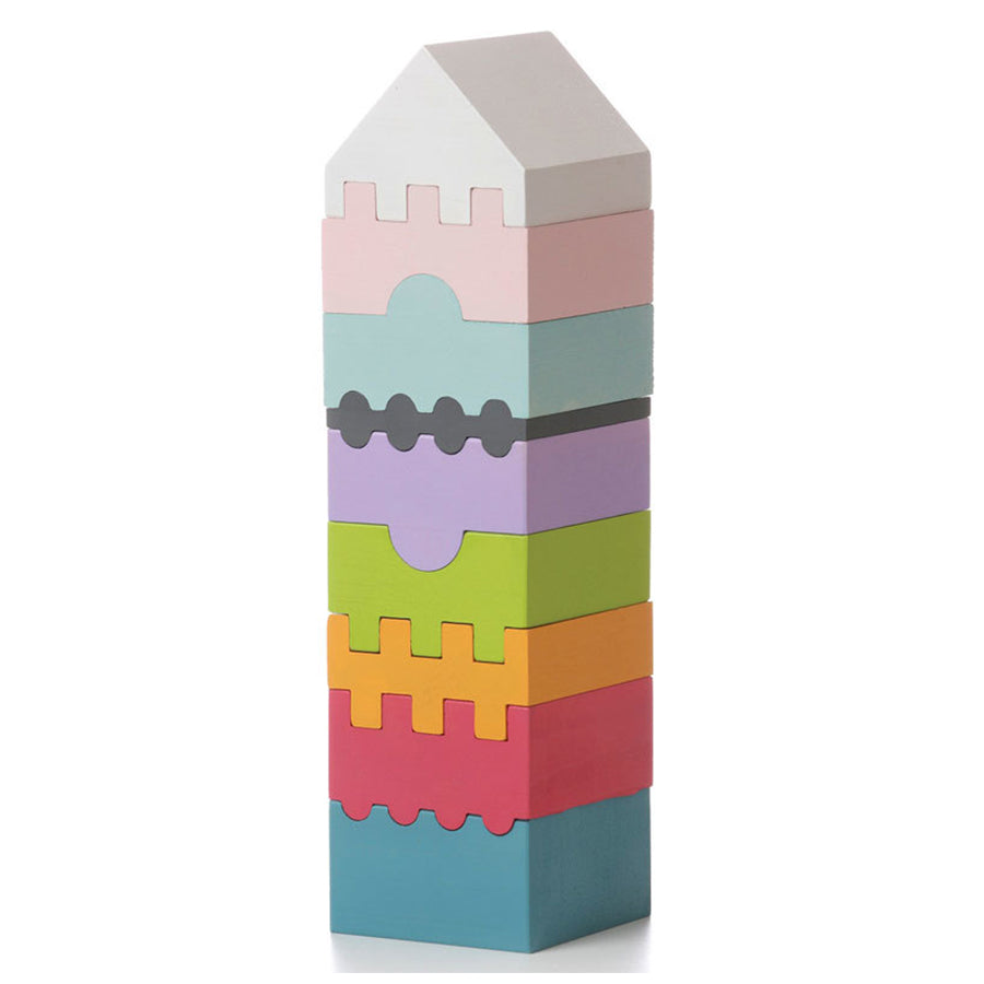 Cubika Wooden Stacking Tower