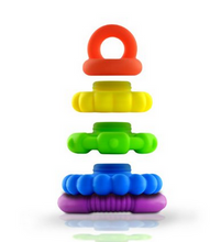 Jellystone Rainbow Stacker Teether and Toy
