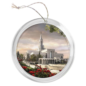 """Bountiful Temple"" Tree Ornament"
