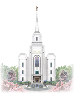 Brigham City Temple - Celestial Series