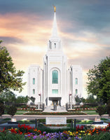 Brigham City Utah Temple - A Place of Safety