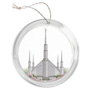 """Boise Temple - Celestial Series"" Tree Ornament"