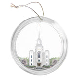 """Brigham City Temple - Celestial Series"" Tree Ornament"