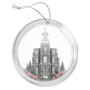 """Logan Temple - Celestial Series"" Tree Ornament"