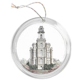 """Manti Temple - Celestial Series"" Tree Ornament"