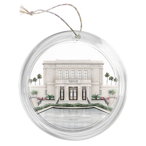 """Mesa Temple - Celestial Series"" Tree Ornament"