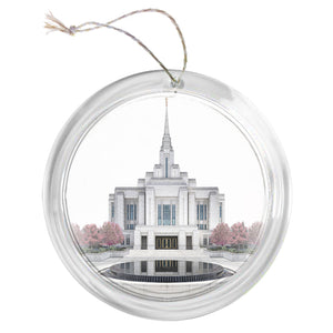 """Ogden Temple - Celestial Series"" Tree Ornament"