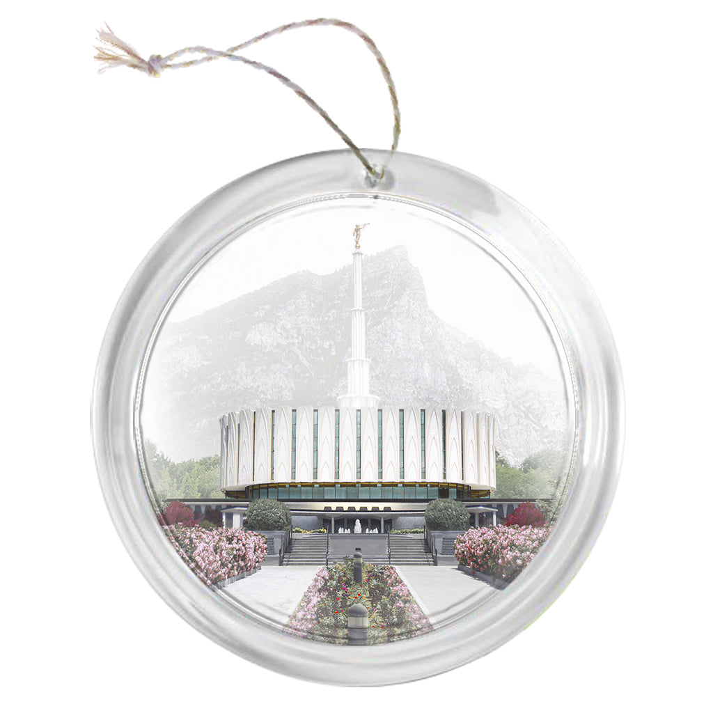 """Provo Temple - Celestial Series"" Tree Ornament"