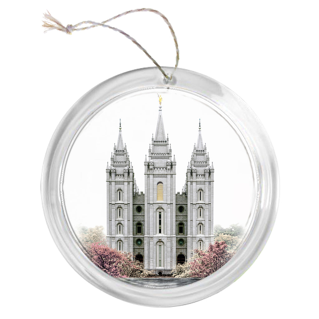 """Salt Lake Temple - Celestial Series"" Tree Ornament"