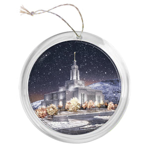 """Draper Temple"" Tree Ornament"