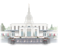 Idaho Falls Temple - Celestial Series