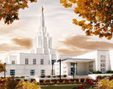 Idaho Falls Temple - Fall