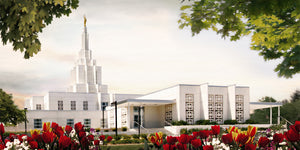Idaho Falls Temple - Summer