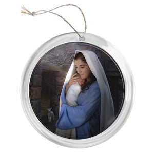 """Lamb of God"" Tree Ornament"