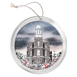 """Logan Temple"" Tree Ornament"